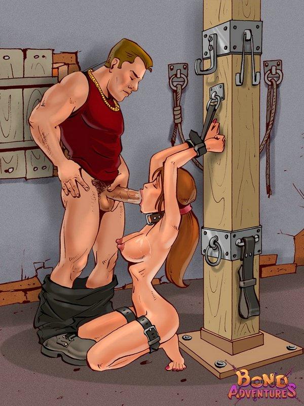 Free bondage cartoon porn