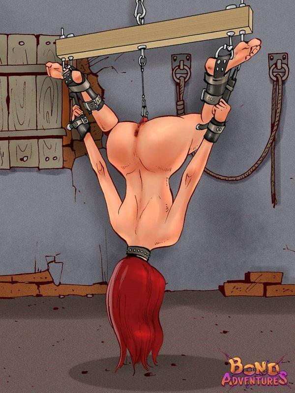 Cartoon BDSM prison