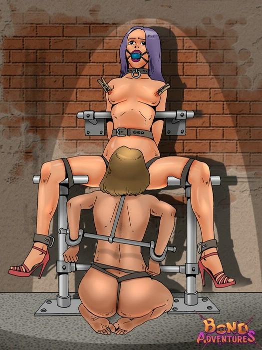 Free cartoon bondage porn pics