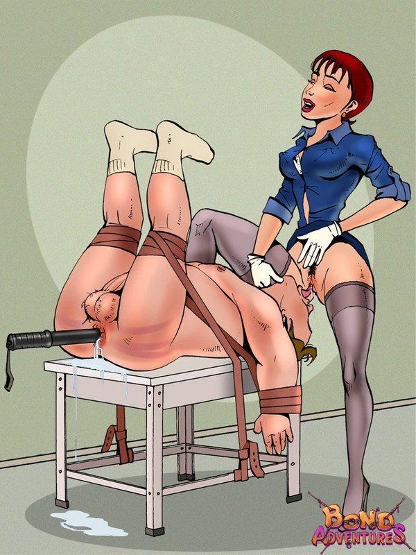 Think, Humiliation bdsm torture comics have