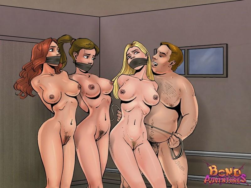 Cartoon bondage adult gallery with Bruce Bond